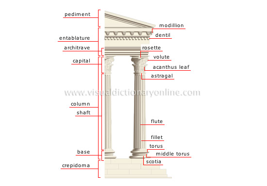 Parts Of A Column >> Arts Architecture Architecture Architectural Styles