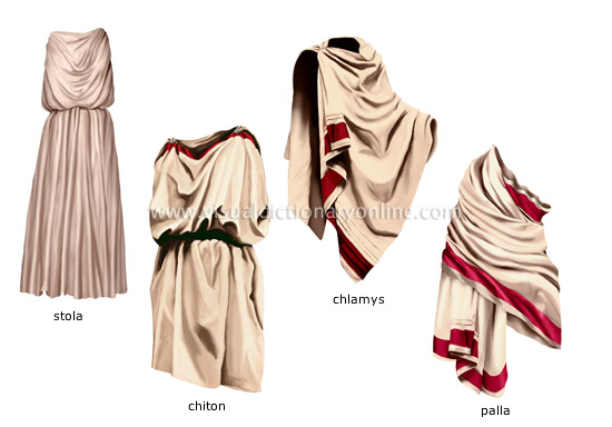 CLOTHING & ARTICLES :: CLOTHING :: ELEMENTS OF ANCIENT COSTUME [2 ...