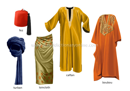 traditional clothing - Visual Dictionary Online