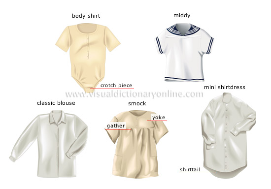 Women'S Blouse Types 22