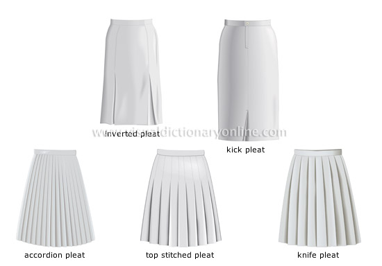 examples of pleats