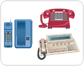 examples of telephones