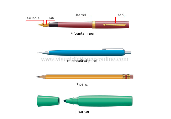 writing instruments [2]