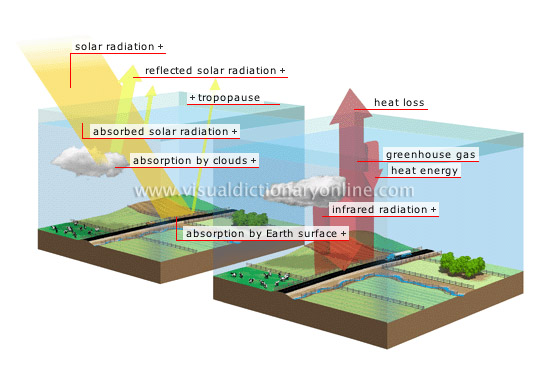 Earth Environment Greenhouse Effect Natural Greenhouse
