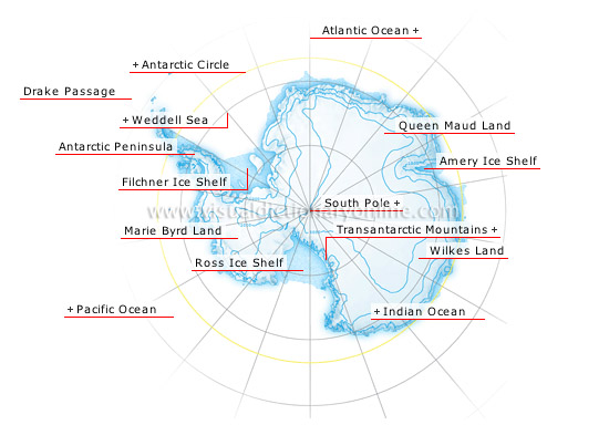 Antarctica - Visual Dictionary Online