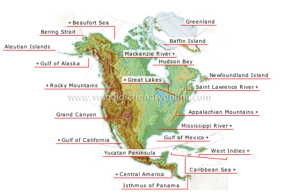 North America - Visual Dictionary Online