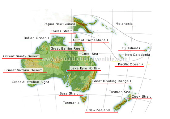 Oceania - Visual Dictionary Online
