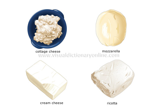 fresh cheeses