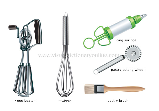Kitchen Equipment And Their Names ~ Food kitchen utensils baking