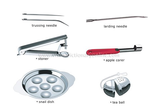 miscellaneous utensils [1]