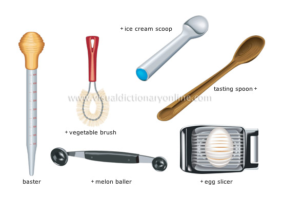 kitchen utensils. Miscellaneous Utensils [3] Kitchen I