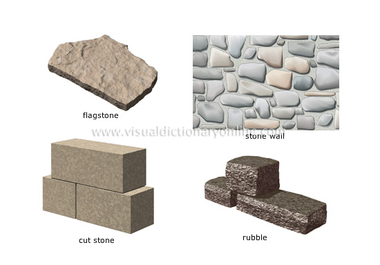 House building materials pictures