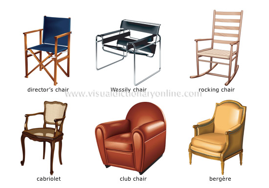 HOUSE :: HOUSE FURNITURE :: ARMCHAIR :: EXAMPLES OF ARMCHAIRS [1