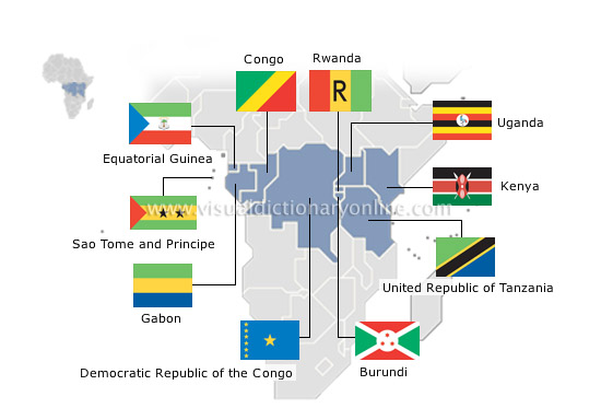 society politics flags africa 1 image visual dictionary