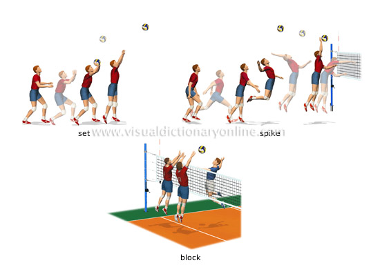 SPORTS & GAMES :: BALL SPORTS :: VOLLEYBALL :: TECHNIQUES [2 ...