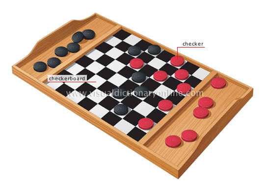SPORTS & GAMES :: GAMES :: BOARD GAMES :: CHECKERS image ...