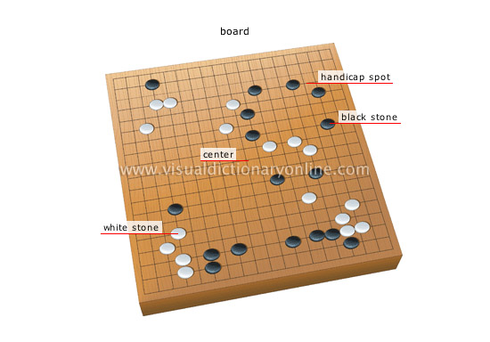 SPORTS & GAMES :: GAMES :: BOARD GAMES :: GO image - Visual