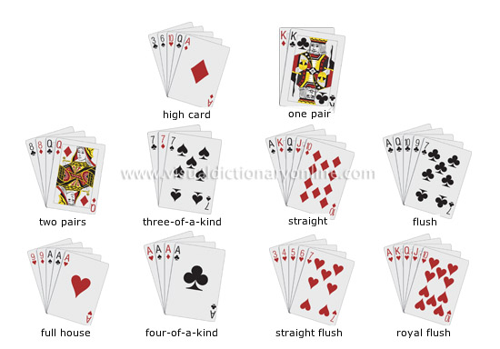 hands in 3 card poker