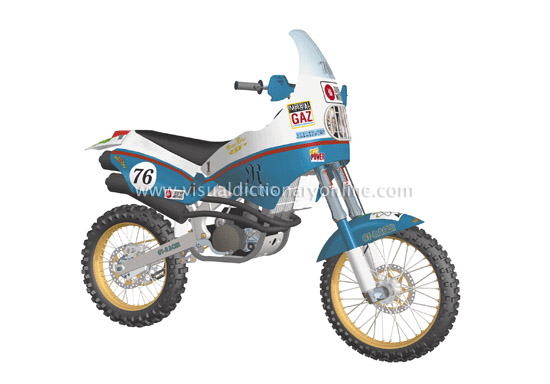 rally motorcycle