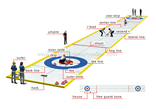 sports games winter sports curling sheet image visual