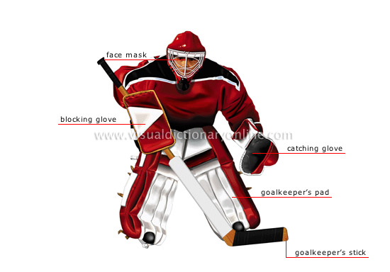 SPORTS & GAMES :: WINTER SPORTS :: ICE HOCKEY :: GOALKEEPER [1 ...