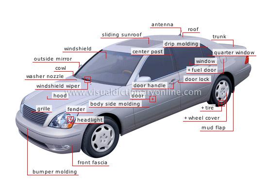 automobile  body