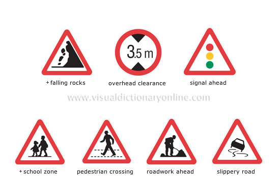 major international road signs [3]