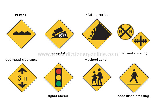 TRANSPORT & MACHINERY :: ROAD TRANSPORT :: ROAD SIGNS